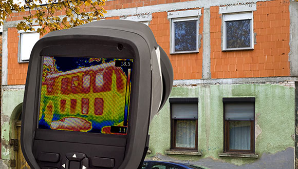Thermal imaging home inspection services from Green Engineering